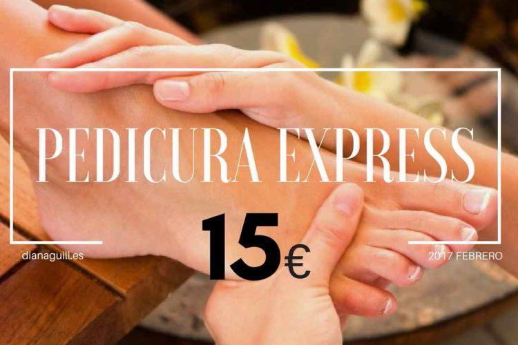 PEDICURA express barcelona