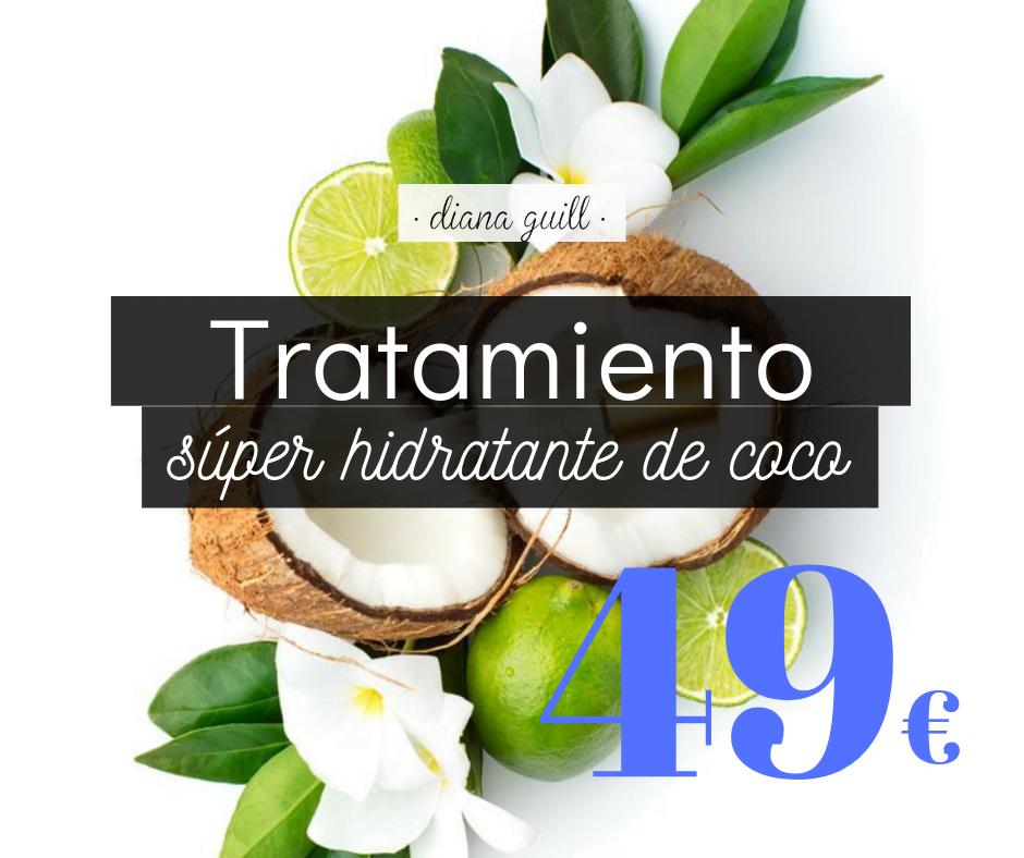 Tratamiento hidratante corporal verano coco