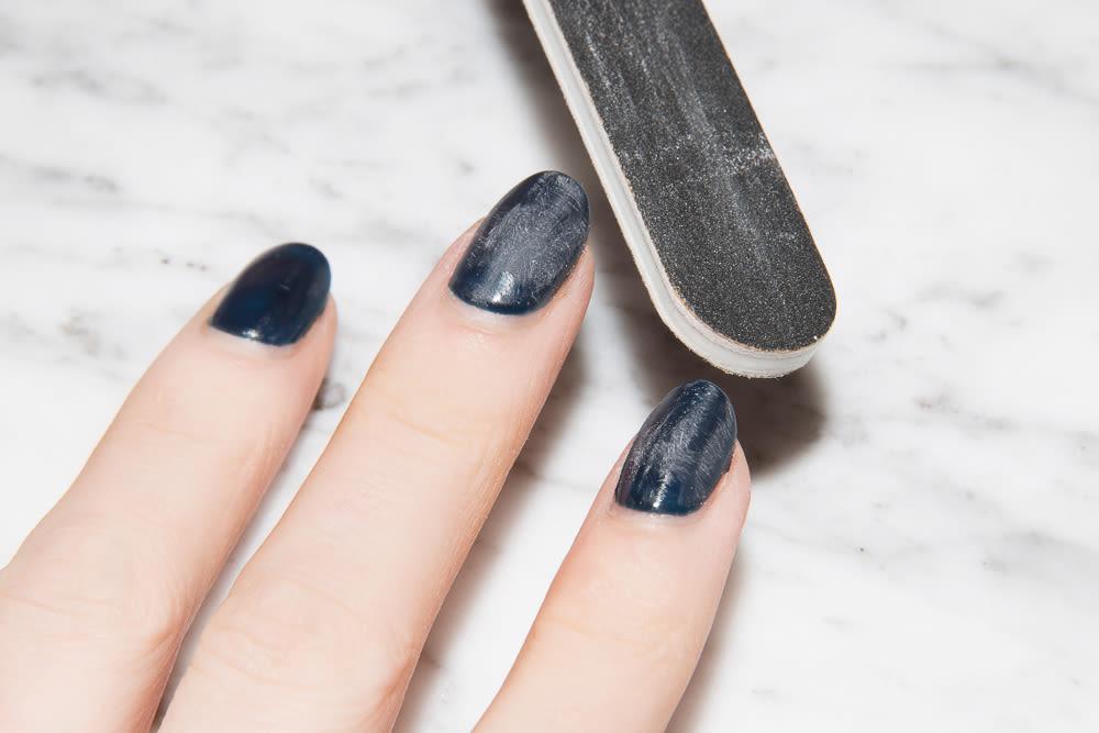 retirar las uñas de gel en casa